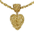 Estate Jewelry:Pendants and Lockets, Gold Pendant-Necklace. ...