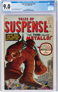 Tales of Suspense #16 (Marvel, 1961) CGC VF/NM 9.0 Off-white to white pages