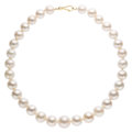 Estate Jewelry:Necklaces, South Sea Cultured Pearl, Gold Necklace. ...