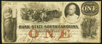 Charleston, SC- Bank of the State of South Carolina $1 Apr. 19, 1862 Fine