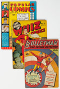 Golden Age (1938-1955):Miscellaneous, Comic Books - Assorted Golden Age Comics Group of 45 (Various Publishers, 1930s-50s) Condition: Average PR.... (Total: 45 )