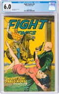 Golden Age (1938-1955):Adventure, Fight Comics #45 (Fiction House, 1946) CGC FN 6.0 Cream to off-white pages....