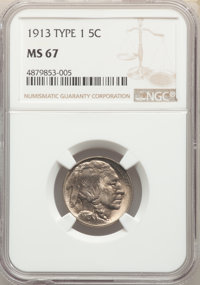 1913 5C Type One MS67 NGC.(PCGS# 3915)