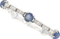 Estate Jewelry:Bracelets, Star Sapphire, Diamond, Platinum Bracelet, Tiffany & Co. . ...