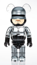 Collectible, BE@RBRICK X MGM. Robocop 1000%, 2018. Painted cast resin. 28 x 14-1/2 x 9 inches (71.1 x 36.8 x 22.9 cm). No. 77. Stampe...