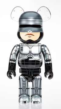 BE@RBRICK X MGM Robocop 1000%, 2018 Painted cast resin 28 x 14-1/2 x 9 inches (71.1 x 36.8 x 22.9