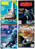 Pulps:Science Fiction, Analog/Asimov's Box Lot (Street & Smith, 1960s-90s) Condition: Average FN/VF.... (Total: 4 Box Lots)