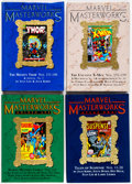 Books:Superhero, Marvel Masterworks Box Lot (Marvel, 2004-11) Condition: NM-....