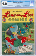 Golden Age (1938-1955):Humor, Land of the Lost Comics #1 (EC, 1946) CGC VF/NM 9.0 Off-white to white pages....