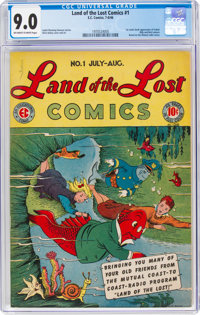 Land of the Lost Comics #1 (EC, 1946) CGC VF/NM 9.0 Off-white to white pages