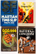 Books:Hardcover, Vintage Science Fiction Hardcover Editions Group of 12 (Various Publishers, 1950s-60s).... (Total: 12 Items)