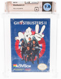 Video Games:Nintendo, Ghostbusters II [Oval SOQ TM] Wata 7.5 A Sealed NES ActiVision 1990 USA....