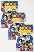 Modern Age (1980-Present):Superhero, Moon Knight #1 Group of 5 (Marvel, 1980) Condition: Average VG/FN.... (Total: 5 Comic Books)