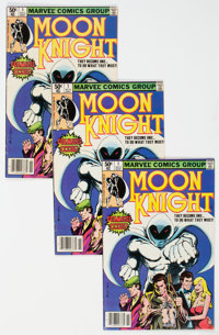 Moon Knight #1 Group of 5 (Marvel, 1980) Condition: Average VG/FN.... (Total: 5 Comic Books)