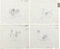 Animation Art:Production Drawing, The Jetsons First Season Layout Draw...