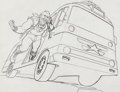 Animation Art:Production Drawing, Mister T Publicity Drawing Original Art (Ruby-Spears, 1983...