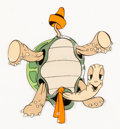 Animation Art:Production Cel, The Tortoise and the Hare Toby Tortoise Production Cel (Walt Disney, 1935)....