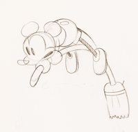 The Opry House Mickey Mouse Production Drawing (Walt Disney, 1929)