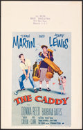 "Movie Posters:Sports, The Caddy (Paramount, 1953). Very Fine-. Window Card (14"" X 22""). Sports.. ..."