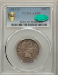 1911-D 25C AU50 PCGS. CAC. PCGS Population: (14/103 and 0/2+). NGC Census: (0/69 and 0/0+). CDN: $525 Whsle. Bid for pro...