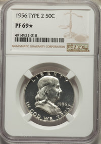 1956 50C Type Two PR69★ NGC. NGC Census: (1312/0 and 175/0*). PCGS Population: (36/0 and 175/0*). CDN: $250 Whsle. Bid f...