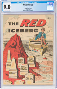 The Red Iceberg #nn Chicago Catholic Action Version (Impact, 1960) CGC VF/NM 9.0 Off-white to white pages