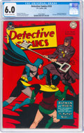 Golden Age (1938-1955):Superhero, Detective Comics #132 (DC, 1948) CGC FN 6.0 Off-white to white pages....