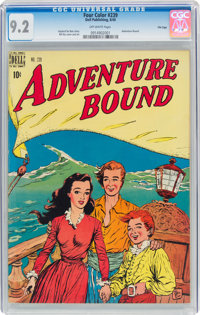 Four Color #239 Adventure Bound - File Copy (Dell, 1949) CGC NM- 9.2 Off-white pages