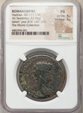 Ancients: Hadrian (AD 117-138). AE sestertius (32mm, 22.96 gm, 6h). NGC VG 4/5 - 3/5