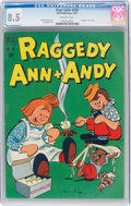 Golden Age (1938-1955):Humor, Four Color #354 Raggedy Ann & Andy (Dell, 1951) CGC VF+ 8.5 Off-white pages....