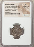 Ancients:Roman Imperial, Ancients: Herennius Etruscus, as Augustus (AD 251). AR antoninianus (20mm, 4.36 gm, 2h). NGC XF 5/5 - 3/5....