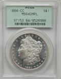Morgan Dollars: , 1884-CC $1 MS64 Deep Mirror Prooflike PCGS. PCGS Population: (1505/866). NGC Census: (613/247). CDN: $510 Whsle. Bid for pr...