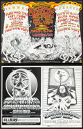 Movie Posters:Rock and Roll, Fleetwood Mac at the Fillmore West & Other Lot (Bill Graham, 1971). Very Fine. Oversized Concert Promotional Postcards (2) (... (Total: 2 Items)