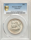1937 50C Antietam MS67 PCGS. PCGS Population: (386/22). NGC Census: (185/17). CDN: $780 Whsle. Bid for problem-free NGC/...