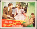 "Movie Posters:Fantasy, It's a Wonderful Life (RKO, 1946). Very Fine-. Lobby Card (11"" X 14""). Fantasy.. ..."