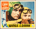 """Movie Posters:Adventure, Wings in the Dark (Paramount, 1935). Fine/Very Fine. Lobby Card (11"""" X 14""""). Adventure.. ..."""