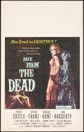 "Movie Posters:Horror, Back from the Dead (20th Century Fox, 1957). Very Fine+. Window Card (14"" X 22""). Horror.. ..."