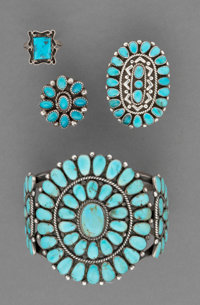 Four Navajo Jewelry Items... (Total: 4 )