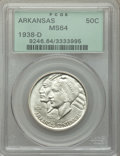 1938-D 50C Arkansas MS64 PCGS. PCGS Population: (330/418). NGC Census: (227/231). CDN: $175 Whsle. Bid for problem-free...