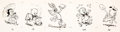 Animation Art:Production Drawing, Bug Bunny Treasure Hunt - A Golden Story