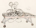 Animation Art:Production Drawing, The Birthday Party Mickey Mouse Animation Layout Drawing (Walt Disney, 1931). ...