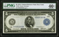 Large Size:Federal Reserve Notes, Fr. 848 $5 1914 Federal Reserve Note PMG Extremely Fine 40 EPQ.. ...