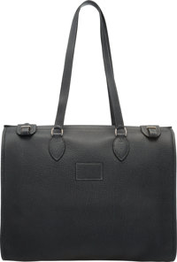"Hermès Prunoir Fjord Leather Tote C Square, 1999 Condition: 3 15.5"" Width x 14"" Height x 4"" Depth..."