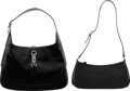 Luxury Accessories:Bags, Gucci Set of Two: Black Shoulder Bags. Condition: 3. See Extended Condition Report for Sizes.... ... (Total: 2 )