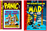 Complete EC Library Mad and Panic Slipcase Editions (Russ Cochran, 1984-86).... (Total: 2 Items)