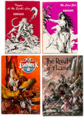 Books:Hardcover, Assorted Classic Weird Fiction Hardcover Volumes Group of 6 (Various Publishers, 1962-79).... (Total: 6 Items)