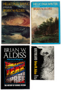 Books:Hardcover, Brian Aldiss Hardcover Editions Group of 6 (Various Publishers, 1958-86).... (Total: 6 Items)