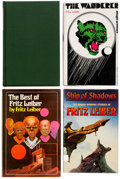 Books:Hardcover, Fritz Leiber Signed Hardcover Editions Group of 4 (Various Publishers, 1964-79).... (Total: 4 Items)