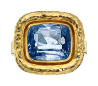 Sapphire, Gold Ring