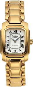 Estate Jewelry:Watches, Glasshütte Lady's Gold Watch. ...
